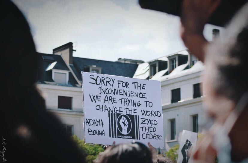 Black Lives Matter : retour en images sur le rassemblement orléanais 3