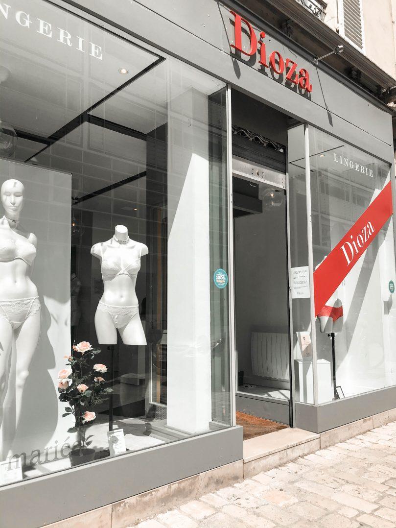 Dioza lingerie, une nouvelle boutique place du Châtelet 3