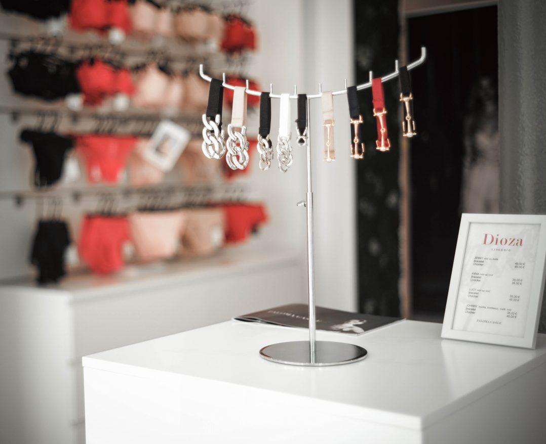 Dioza lingerie, une nouvelle boutique place du Châtelet 14
