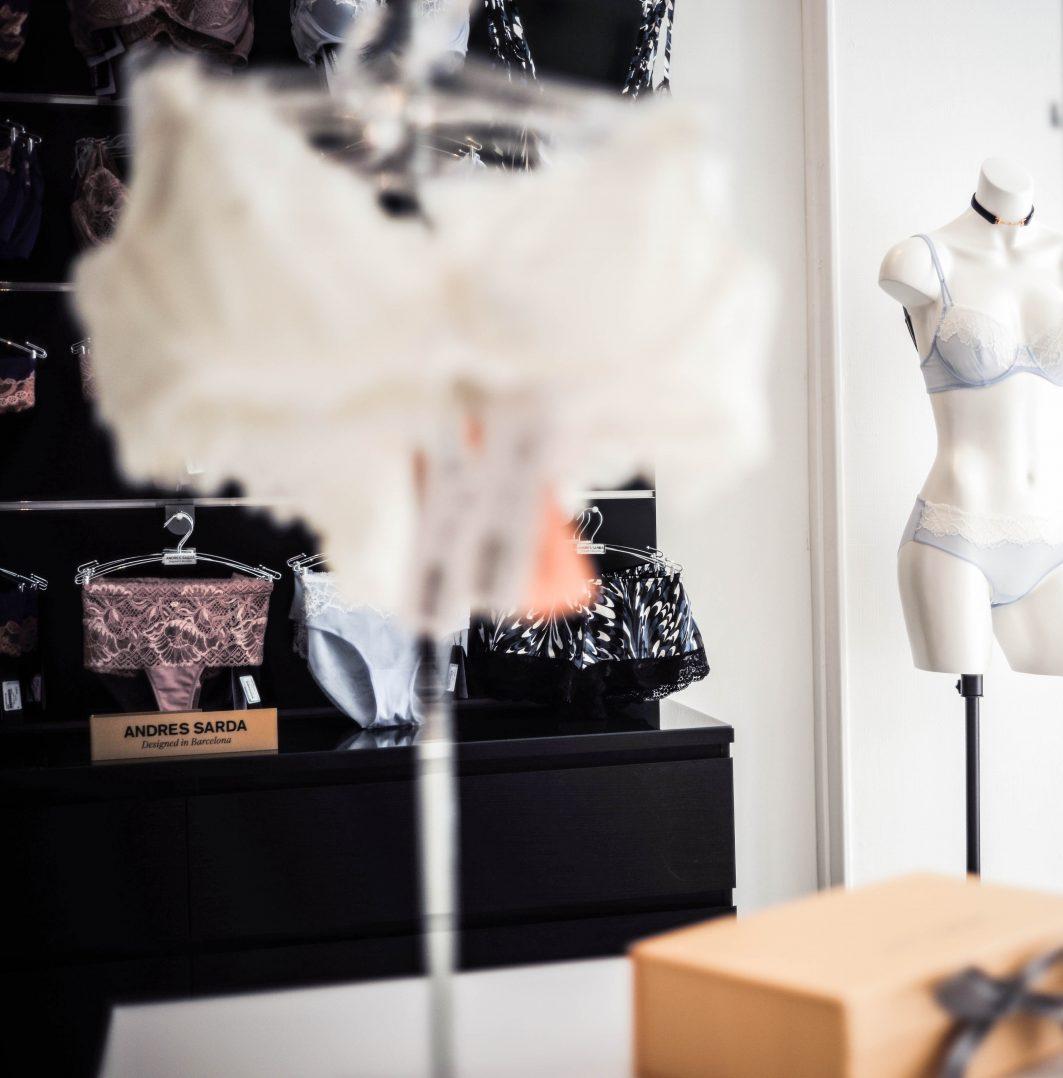 Dioza lingerie, une nouvelle boutique place du Châtelet 12
