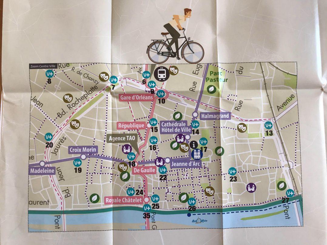 La nouvelle carte cyclable de l'agglo disponible 3