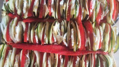 Photo de Un petit tian aux légumes pour l'été !