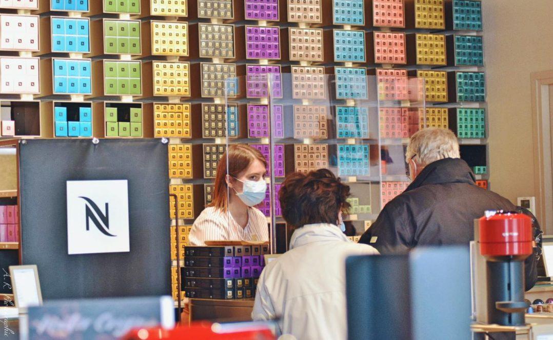 Mesures sanitaires : côté commerçants et côté clients 4