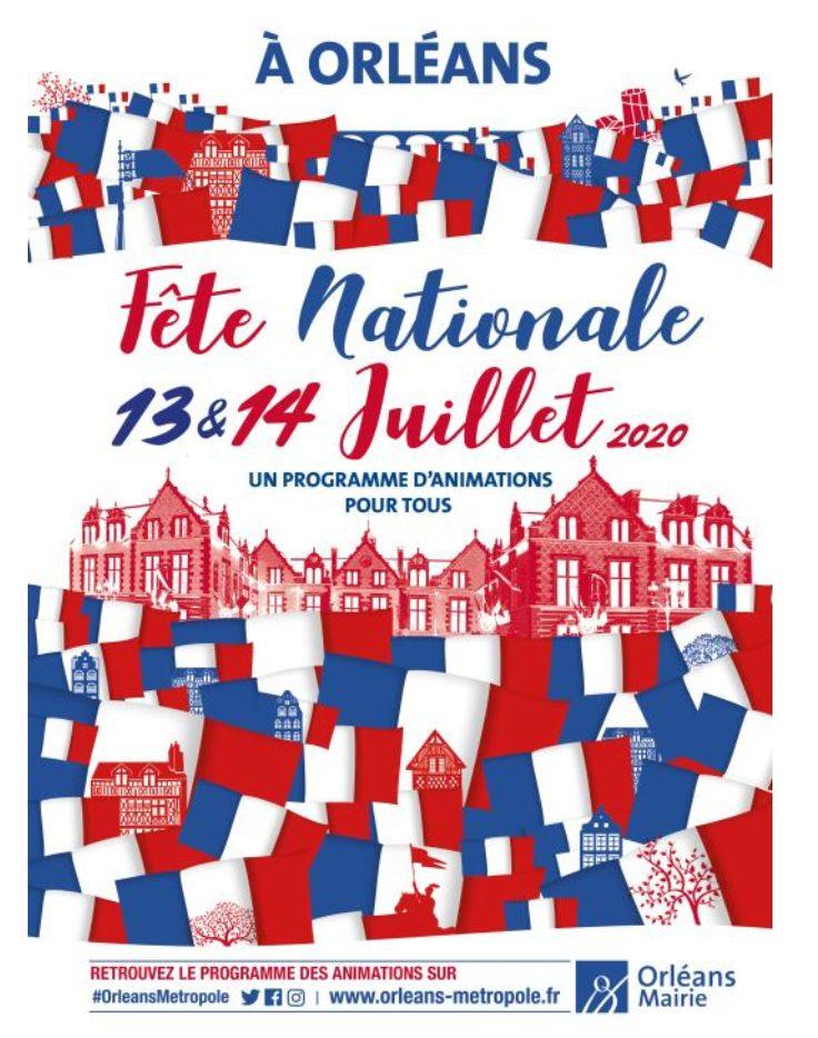 Retrouvez le programme des festivités du 14 juillet à Orléans 2