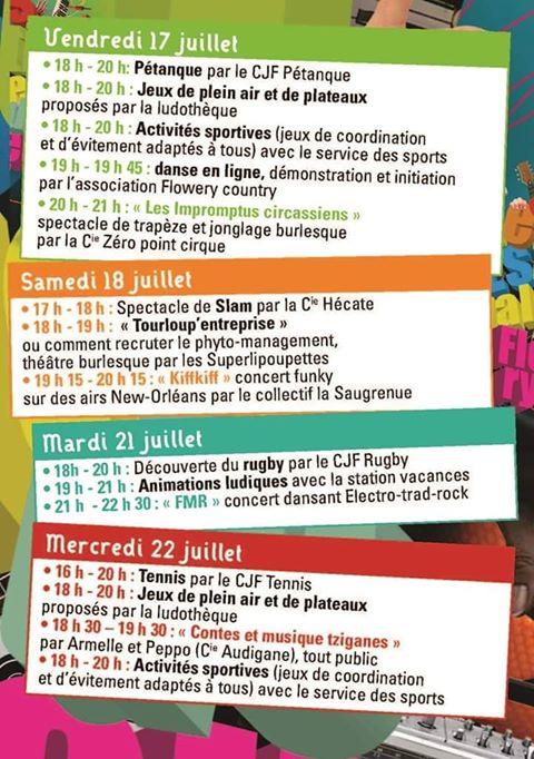 """Les """"Estivales de Fleury-les-Aubrais"""" à découvrir dès samedi 3"""
