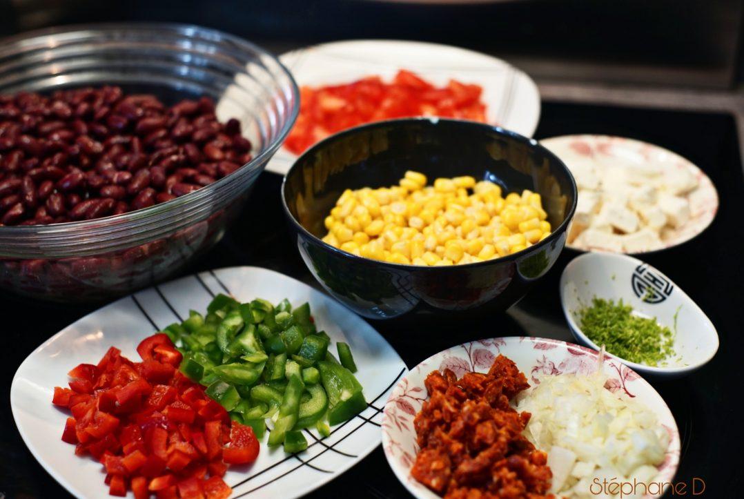 La recette du jour : salade haricots rouges feta 2