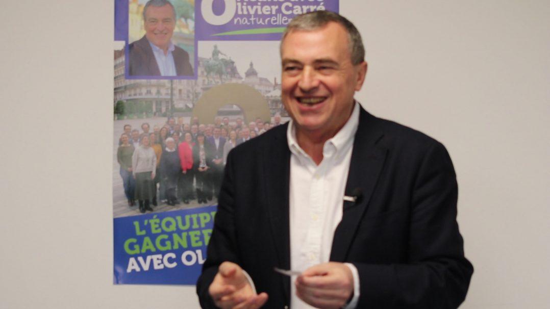 Serge Grouard, a été élu, samedi, 55ème maire d'Orléans. 2