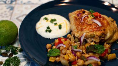 Photo de La recette du jour : poulet épicé, pois chiche