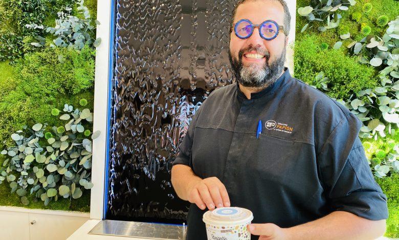 Sébastien Papion lance sa gamme de glaces ! 1