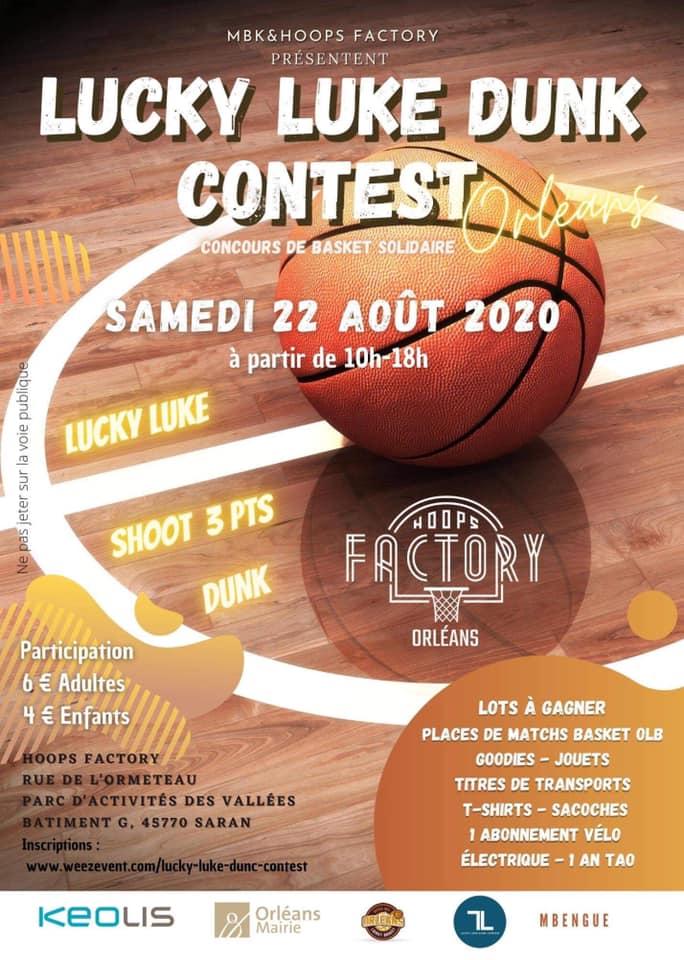 Un concours de basket solidaire samedi à la Hoops Factory 2