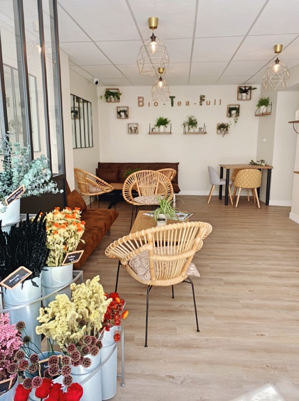 Bio-Tea-Ful : le nouveau salon de thé fleuriste à Orléans 2