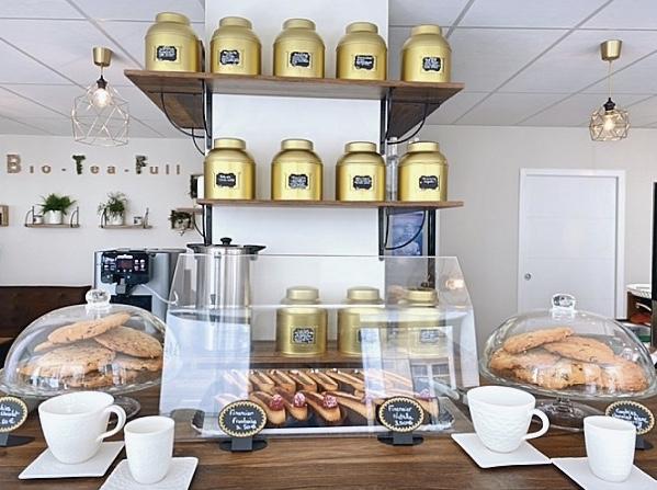 Bio-Tea-Ful : le nouveau salon de thé fleuriste à Orléans 1