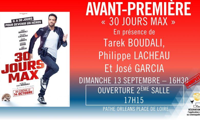 Tarek Boudali, Philippe Lacheau et José Garcia à Orléans pour présenter 30 jours max 1