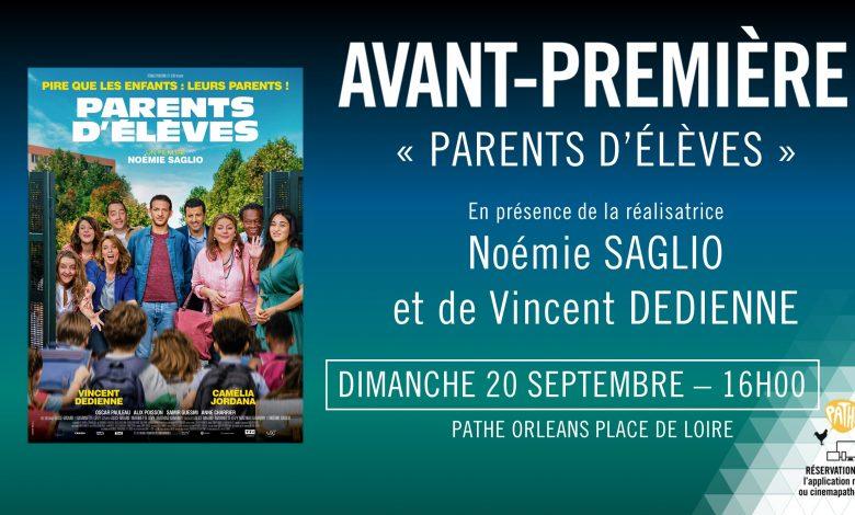 Noémie Saglio et Vincent Dedienne viennent présenter «Parents d'élèves» 1