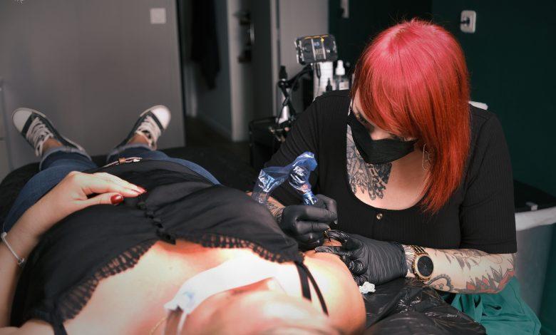 Les Fleurs Noires : arts et tatouages 1