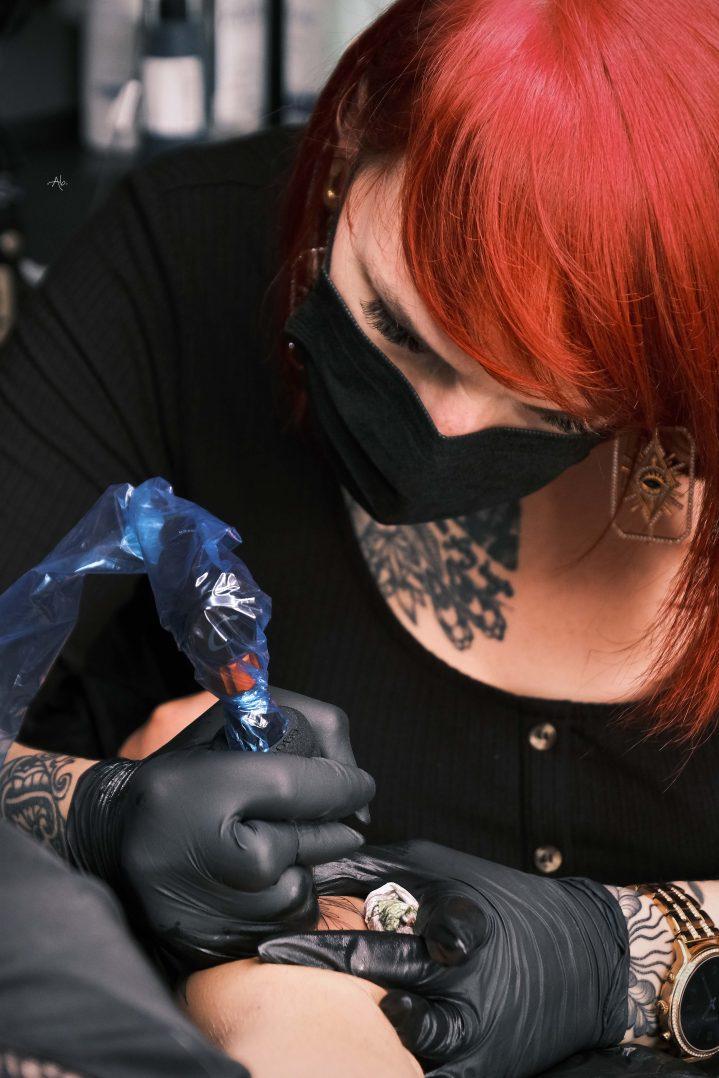 Les Fleurs Noires : arts et tatouages 5