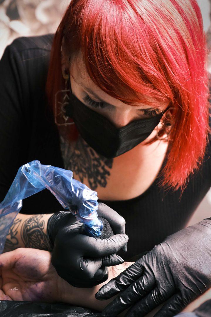 Les Fleurs Noires : arts et tatouages 3