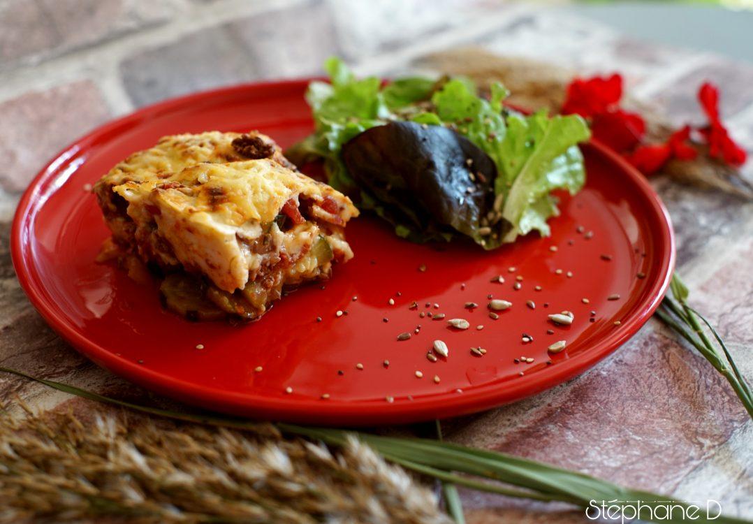 La recette du jour : lasagnes de courgettes 9