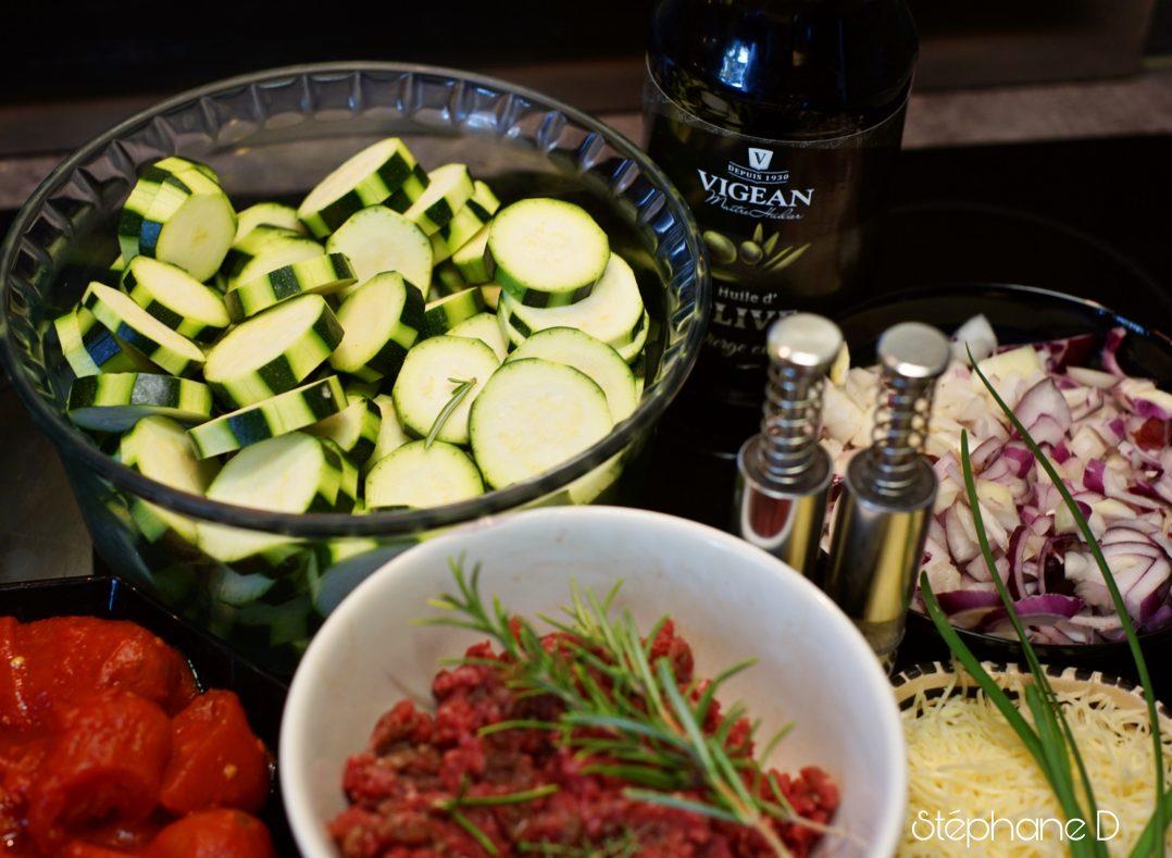 La recette du jour : lasagnes de courgettes 1