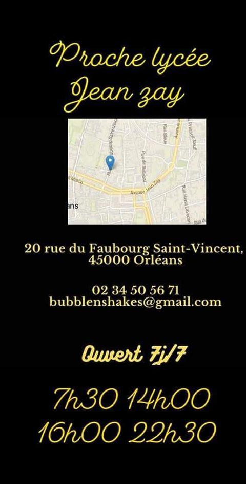 Bubble n'shakes s'installe Faubourg Saint Vincent 12