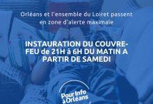 Photo de Le couvre feu mis en place dans le Loiret