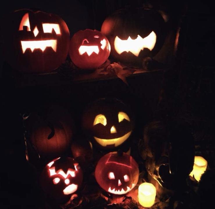Atelier Halloween : sculpture sur citrouille Jack'O Lantern 11