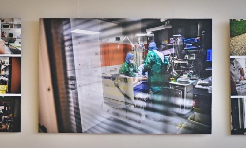 COVID-19 : Trois expositions consacrées aux personnels soignants. 6