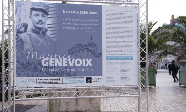 Orléans célèbre Maurice Genevoix avant son entrée au Panthéon. 1