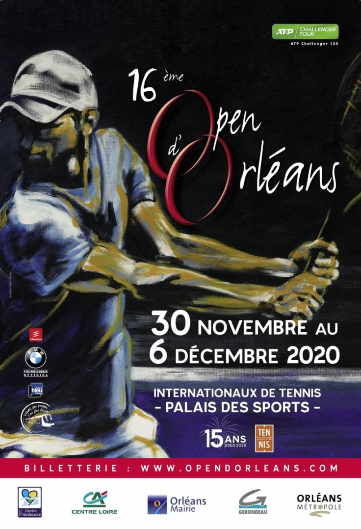Lucas Pouille à l'Open d'Orléans ! 2