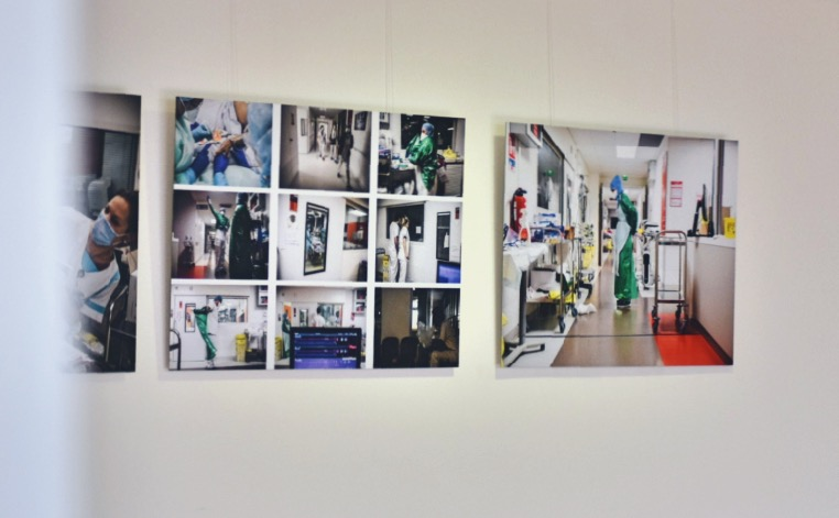 COVID-19 : Trois expositions consacrées aux personnels soignants. 3