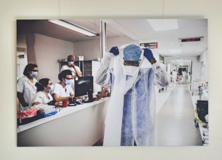 COVID-19 : Trois expositions consacrées aux personnels soignants. 5
