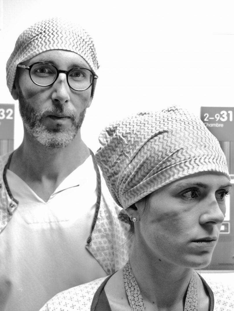COVID-19 : Trois expositions consacrées aux personnels soignants. 14