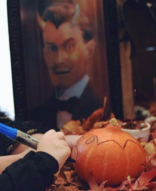 Atelier Halloween : sculpture sur citrouille Jack'O Lantern 3