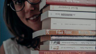 Photo de Un bibliovore en centre ville