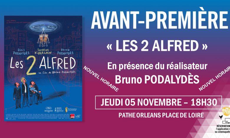 Bruno Podalydès vient présenter «Les Deux Alfred» 1