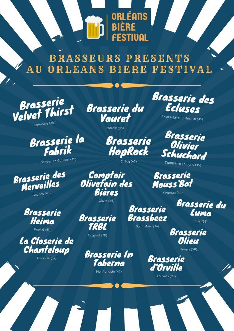 Orléans Bière Festival ce Samedi 10 Octobre au Campo Santo 2