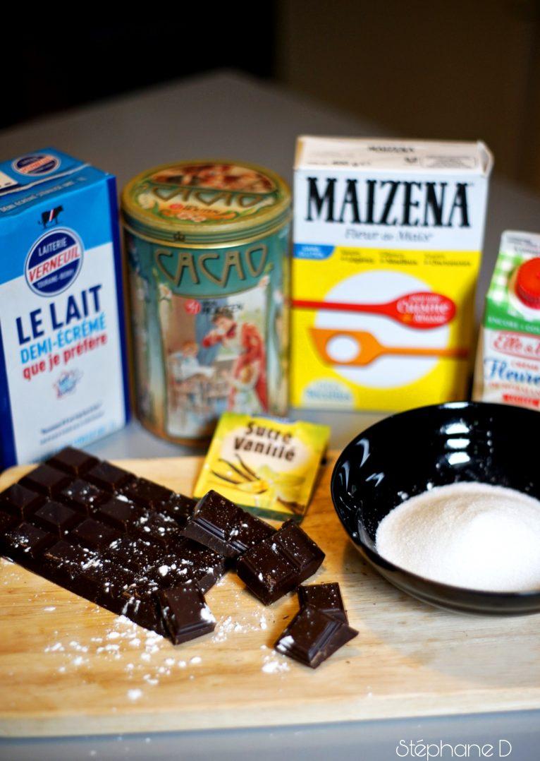Pour le goûter ou en dessert :  Rochers à la noix de coco et crème au chocolat 4