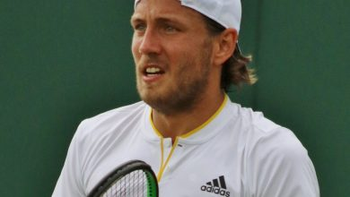 Photo de Lucas Pouille à l'Open d'Orléans !