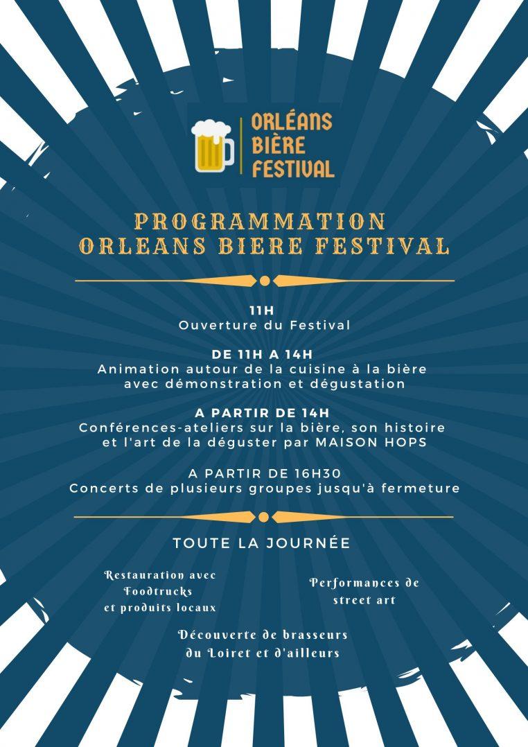 Orléans Bière Festival ce Samedi 10 Octobre au Campo Santo 3