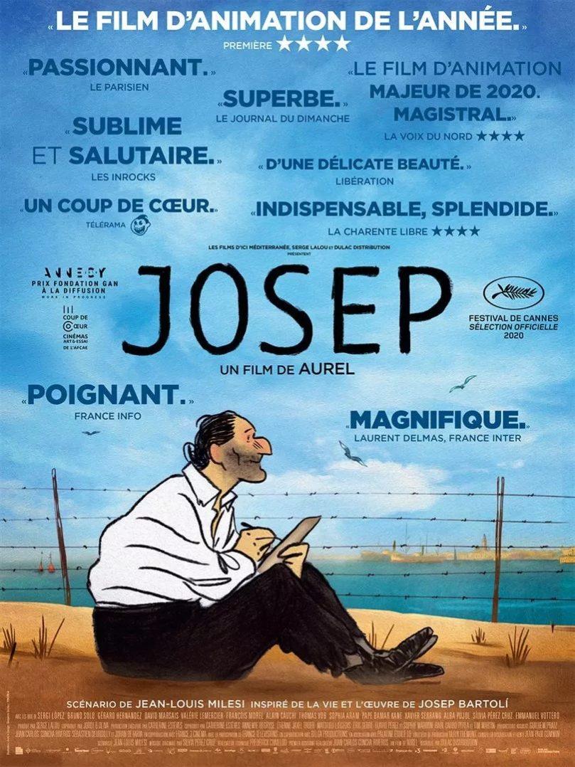 """On a rencontré Jean-Louis Milesi, scénariste du superbe """"Josep"""", actuellement aux Carmes 2"""