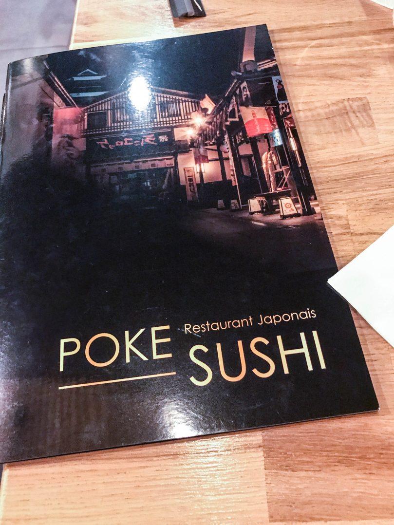 Poke sushi, un restaurant japonais place Châtelet 3