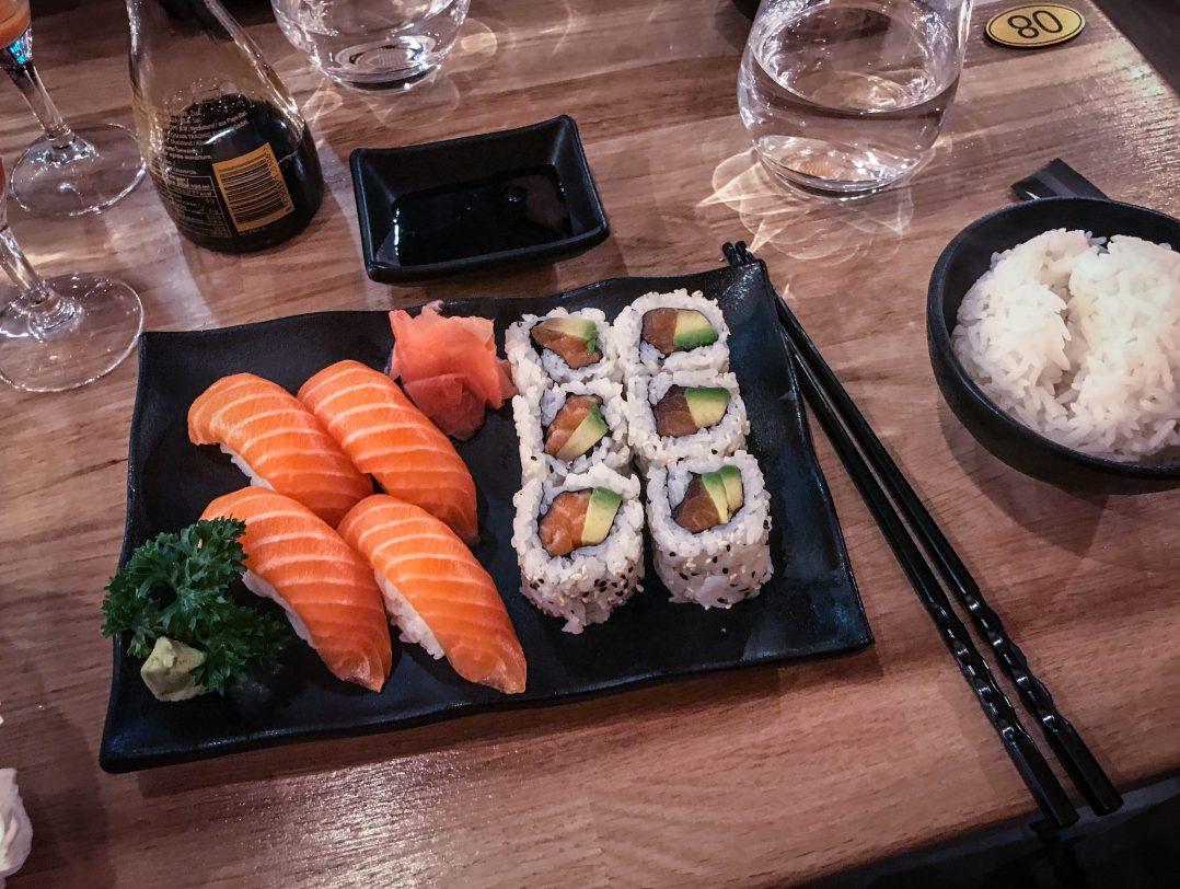 Poke sushi, un restaurant japonais place Châtelet 7