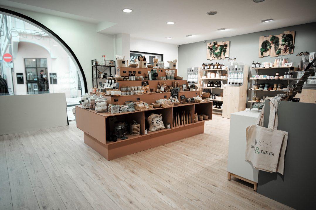 Soi Bio et T'es Toi, une boutique zéro déchet en hyper centre 12