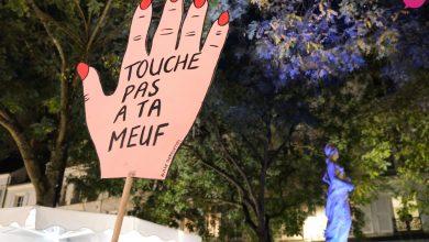 Photo de Un rassemblement contre les violences à l'égard des femmes