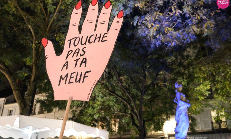 Un rassemblement contre les violences à l'égard des femmes 1