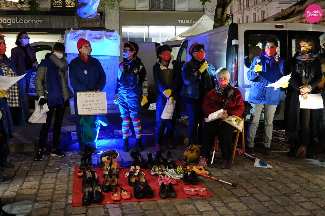 Un rassemblement contre les violences à l'égard des femmes 13