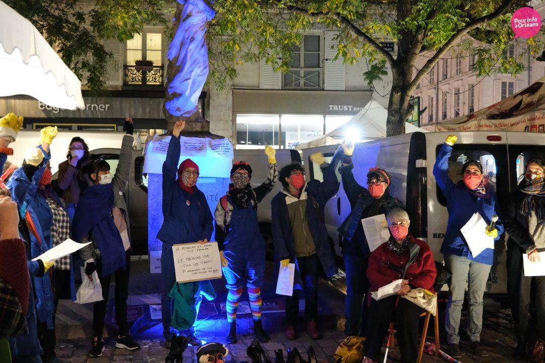 Un rassemblement contre les violences à l'égard des femmes 14