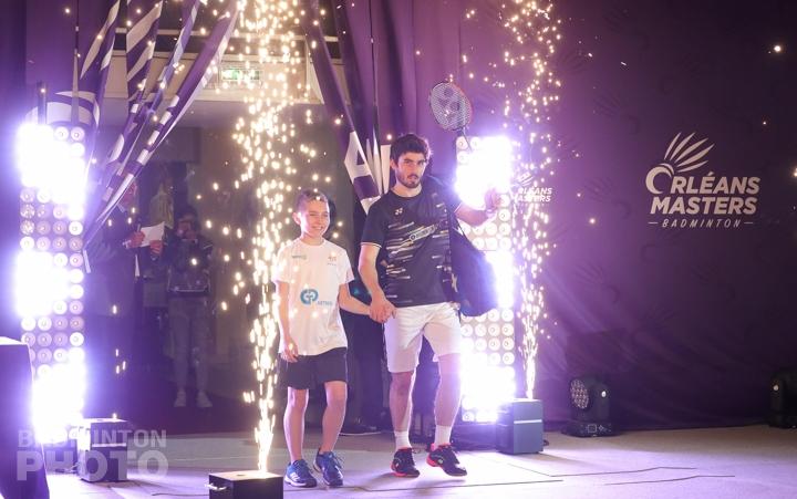 L'Orléans Masters de badminton avancé d'une semaine 2