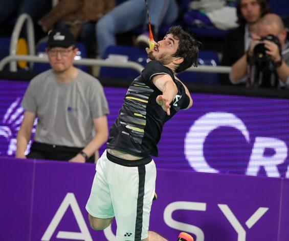 L'Orléans Masters de badminton avancé d'une semaine 1