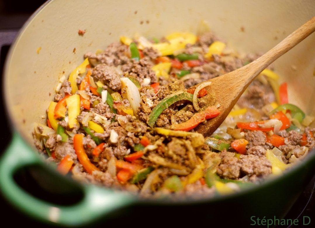 Recette Chili con carne 3